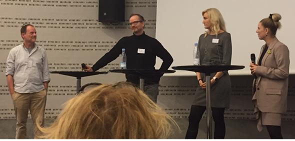 Christian Graugaard, Morten Frisch, Anne Rygaard og Lene Stavngaard (privatfoto).