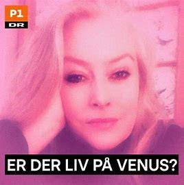 Er der liv på Venus - DRs logo for udsendelsen