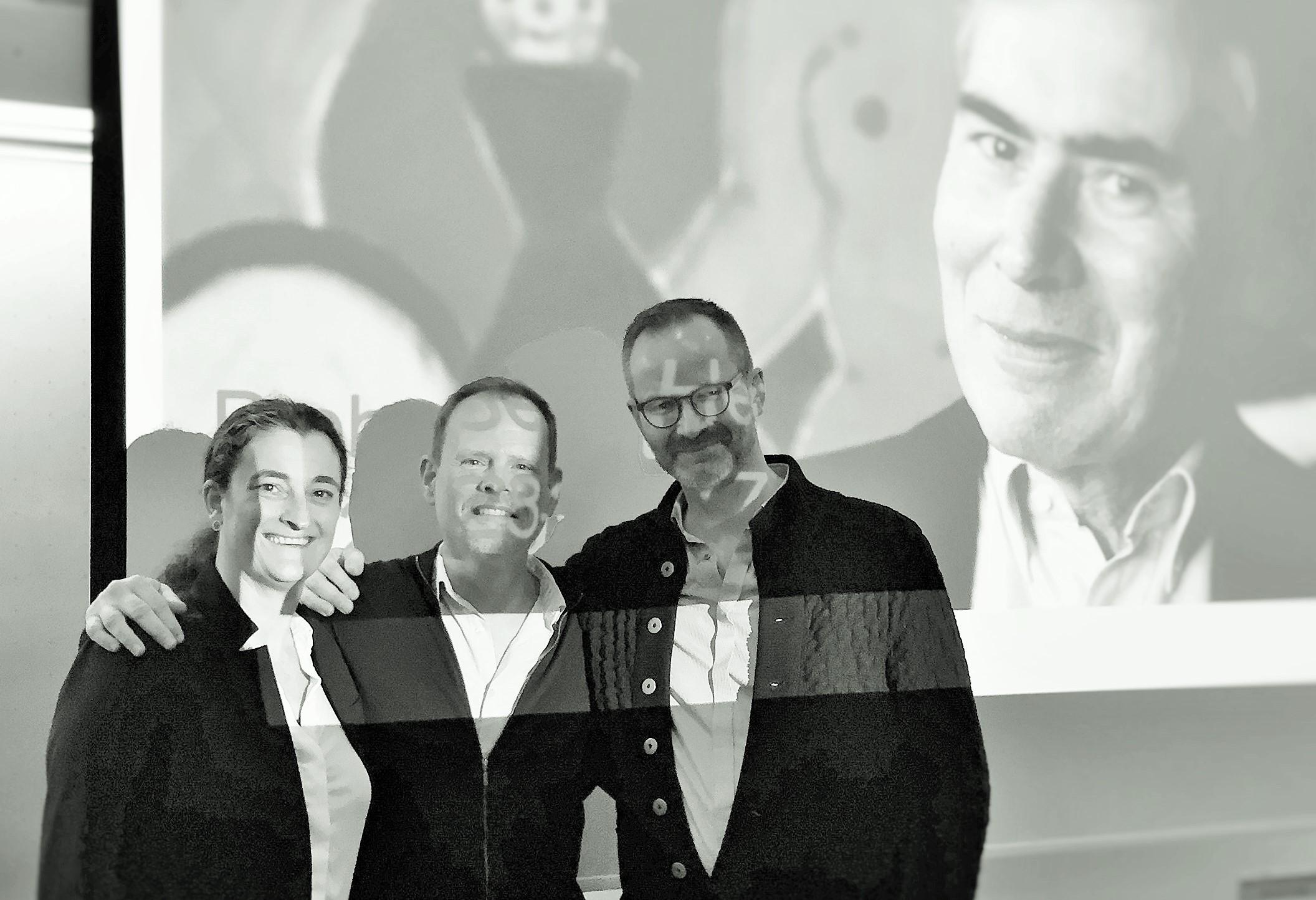 Maria, Christian og Morten  og Hertoft 2