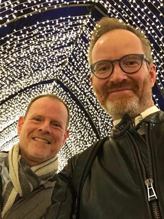 Morten og Christian i Oslo
