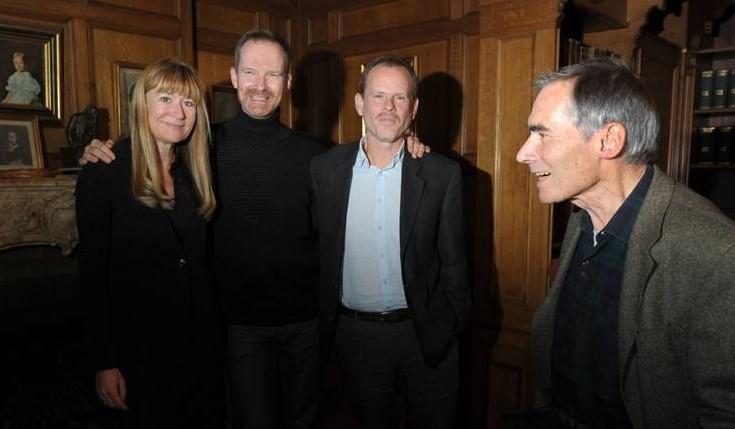 Preben Hertoft + Bente Klarlund, Morten Frisch og Christian Graugaard